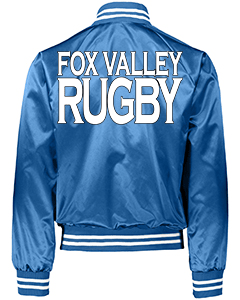 Fox Valley Rugby - Augusta Blue Jacket -Back-min