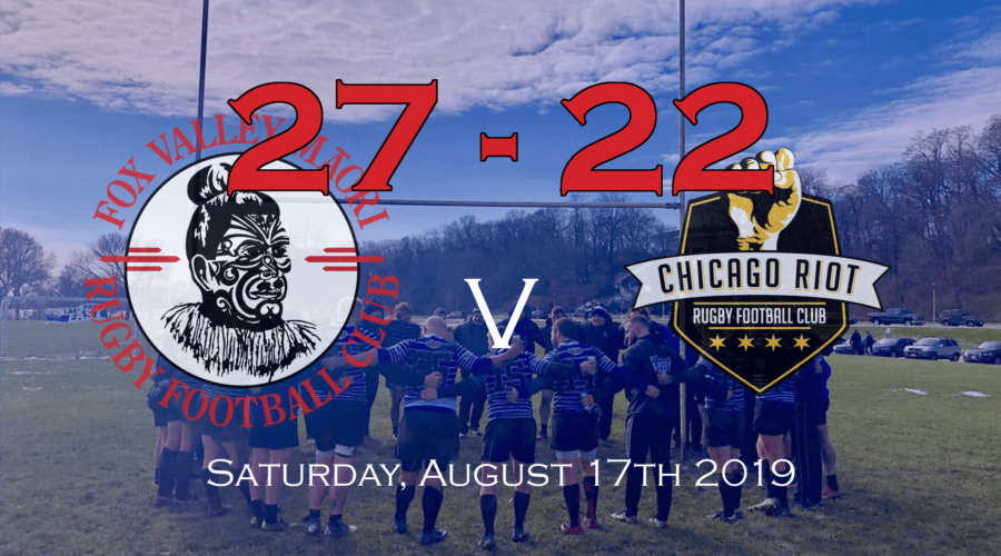 Fox Valley @ Chicago Riot Match Report 08/17/2019