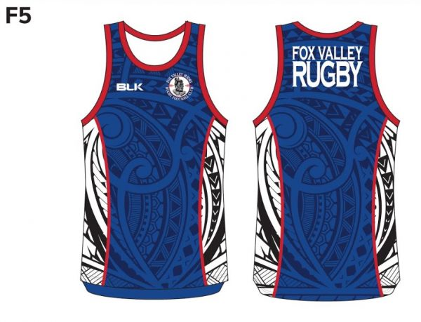 Fox Valley Rugby Singlet - image1
