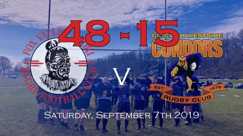 Fox Valley 48 v Condors 15